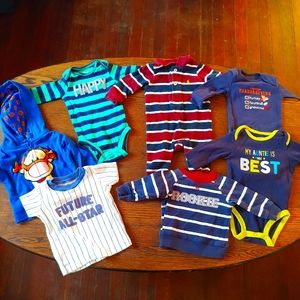 Baby boy's bundle/Lot of tops and 1 piece size 3M